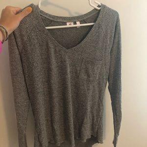 Make+Model (Nordstrom) Gray Long Sleeve Size S